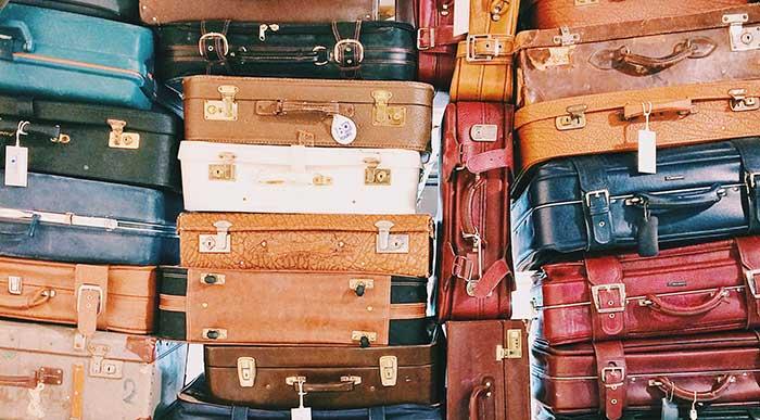 Bagagem nos aeroportos